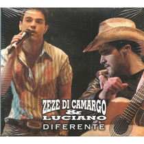 Cd Zeze Di Camargo E Luciano - Diferente Com Silvinha Araujo
