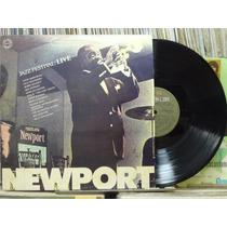 Newport Jazz Festival Live Lp Cbs 1982 Jazz Blues Stereo