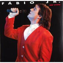Lp Vinil Fábio Junior Ao Vivo - Ano 1989 Com Encarte. Ótimo