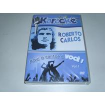 Dvd Karaokê Roberto Carlos 20 Musicas