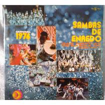 Lp Vinil Sambas De Enredo Carnaval 1976 Rio Capa Dupla