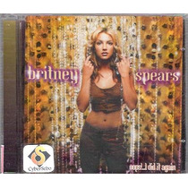 Cd Britney Spears Oops! ... I Did It Again