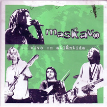 Cd Maskavo - Ao Vivo Em Atlântida - Semi Novo***