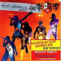 Cd Rebeldes Rbd Four Generacion En Vivo Lascrado Original