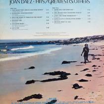 Lp Joan Baez - Hits Greatest & Others - Vinil Raro