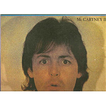 Vinil - Paul Mccartney - Mc Cartney I I - Capa Dupla Encarte