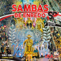 Sambas De Enredo 2016 - Sp - Cd Duplo Original