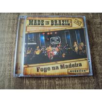 Made In Brazil - Fogo Na Madeira - Acústico - Raridade