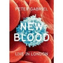 Peter Gabriel New Blood Live In Londres Bluray 3d C/ Luva