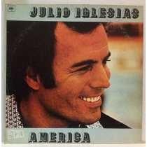 Lp Disco Vinil Julio Iglesias America Frete Grátis!