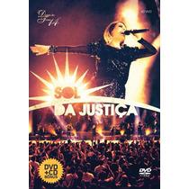 Dvd Sol Da Justiça - Diante Do Trono
