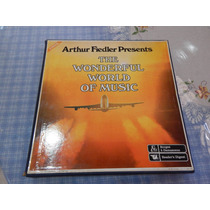 Box Arthur Fiedler The Wonderful World Of Music 10 Lps 1979