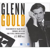 Cd Glenn Gould Bach 3 (55-57) Novo Lacrado Original