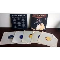 Lp Stevie Wonder Yester-me, Yester-you, 5 Lps Box Importado