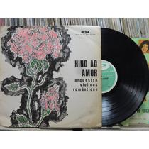 Orquestra Violinos Romanticos Hino Ao Amor Lp Paladium