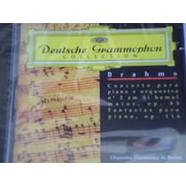 Cd Brahms Concerto Piano E Orq Nº 2 Fantasias Piano Sem Uso