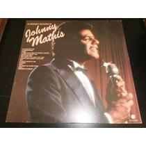 Lp Os Grandes Sucessos De Johnny Mathis, Disco Vinil, 1982