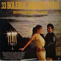 Lp Disco De Vinil 33 Boleros Inesquecíveis