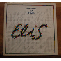 Lp Box Elis Regina 1980 Saudade Do Brasil