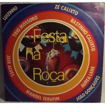 Lp / Vinil Forró: Festa Na Roça - Trio Mossoró, Zé Calisto..