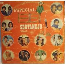 Lp / Vinil Sertanejo: Especial Sertanejo Vol.2 - 1984