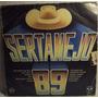 Lp / Vinil Sertanejo: Sertanejo 89 - ( Coletânea ) - 1988