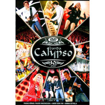 Dvd Banda Calypso 10 Anos Original + Frete Grátis