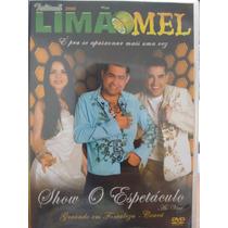 Dvd Limão Com Mel - Show O Espetáculo Ao Vivo