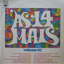 As 14 Mais Lp Vol 27 Cbs 1973 Roberto Carlos