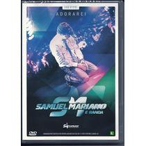 Dvd Samuel Mariano - Adorarei (ao Vivo) * Lançamento