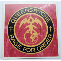 Lp Queensryche - Rage For Order - 1986 - Disco De Vinil