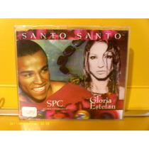 Spc E Gloria Estefan - Santo Santo - Cd Single Excelente