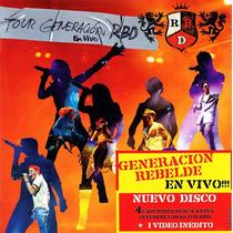 Cd Lacrado Rbd Tour Generacion Rbd Rebelde Em Vivo