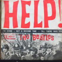 The Beatles Help! I´m Down Not A Second Compacto Vinil Raro