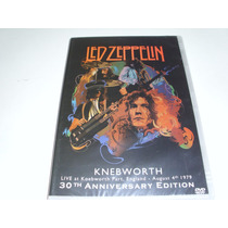 Dvd Led Zeppelin Live At Keebworth Part . England 1979