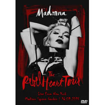 Dvd Madonna - Rebel Heart Tour Live From New York Hd