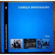 Titãs Cd + Livreto Nac Usado Cabeça Dinossauro 2010