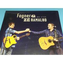 Fagner & Zé Ramalho - Cd Ao Vivo - Digipack - Lacrado