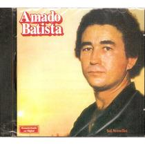 Cd Amado Batista - Sol Vermelho - Novo***