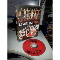 Dvd Rbd Live In Rio - Rebelde Ao Vivo No Rio - Original
