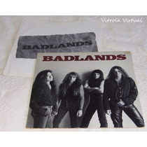 Lp Badlands 1989 Printed In Usa Atlantic