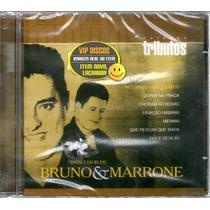 Cd Bruno E Marrone Coleção Tributos - Novo Lacrado Raro
