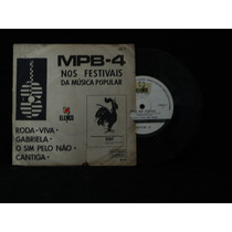 Mpb-4 Nos Festivais - Roda-viva - Compacto/ep