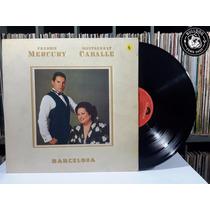 Lp Freddie Mercury Montserrat Caballé Barcelona - Video- Be