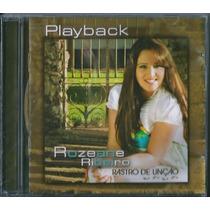 Playback Rozeane Ribeiro - Rastro De Unção * Original