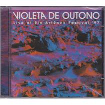 Violeta De Outono - Cd Live At Rio Art Rock Festival 97