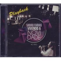Playback Sarah Farias - Vivendo A Novidade [original]