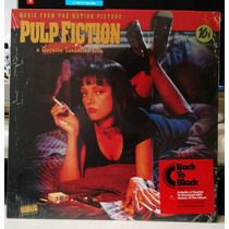 Lp Pulp Fiction - Vinil 180 Gr Novo Lacrado