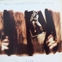 Lp Neil Young & Crazy Horse - Life - Vinil Raro