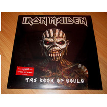 Iron Maiden The Book Of Souls Lp Lacrado Pronta Entrega